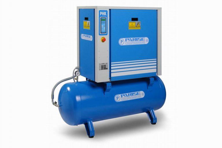 Disponibile la nuova serie di compressori a vite da 3 a 20 Hp