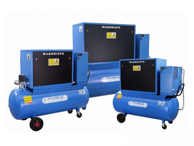 Nuova serie di compressori silenziati a pistoni SO-E