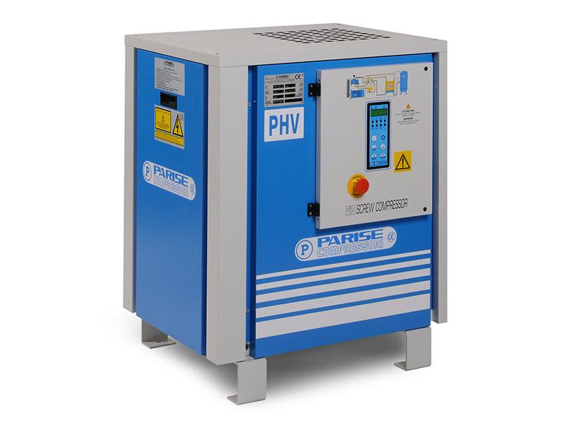 screw compressors PHV series 2,2 - 7,5 kW