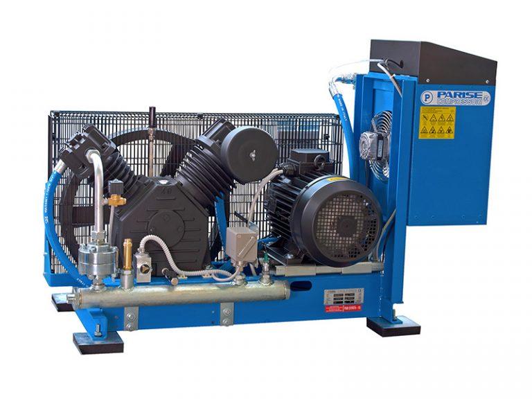 Compressori alta pressione su basamento
