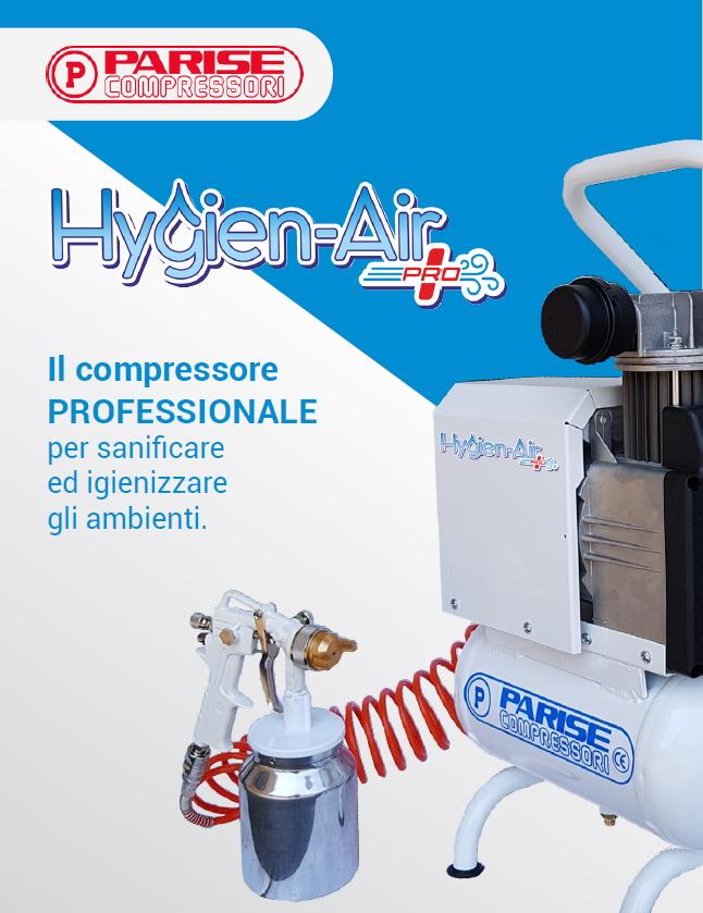 Compressore Professionale per Sanificare e Igienizzare