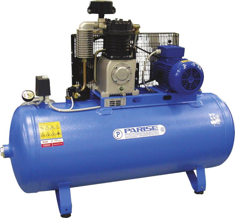 compressori alta pressione su serbatoio